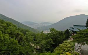 View of jinhae from sammilsa