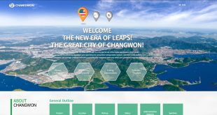Changwon CIty English Website